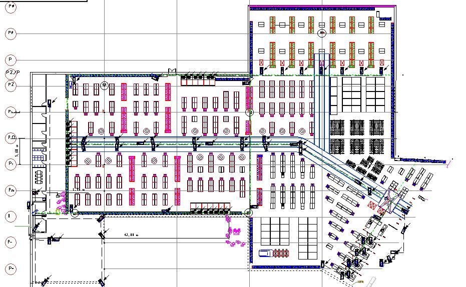 Network Diagram Software For Electric  Network  Fire Alarm